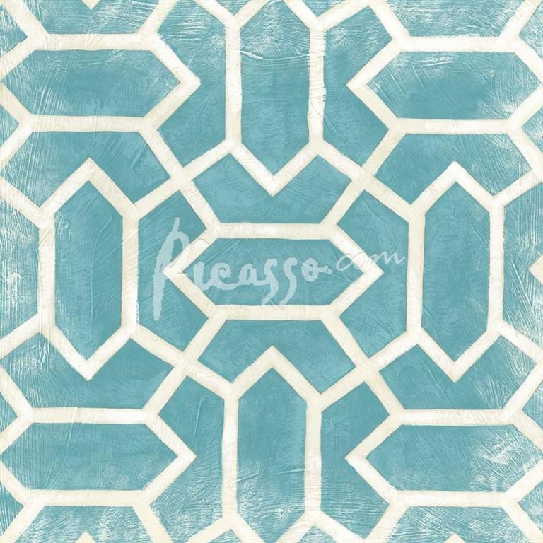 Small Modern Symmetry V Fine Art Print By Chariklia Zarris At Picasso Com