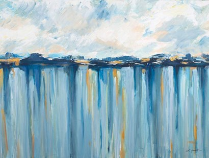 Ocean Blues by L. Hewitt art print