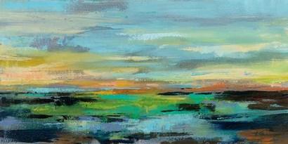 Delmar Sunset I by Silvia Vassileva art print