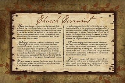 Church Covenant II by Jennifer Pugh art print