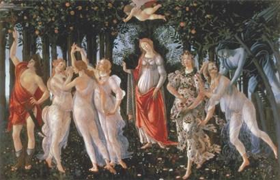Primavera by Sandro Botticelli art print