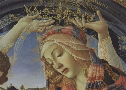 Madonna of the Magnificat (detail) by Sandro Botticelli art print