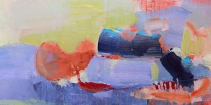 Fluttering My Way Through 2 by Lina Alattar art print