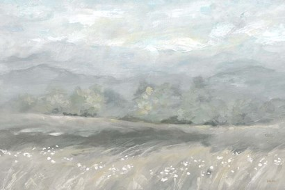 Country Meadow Landscape Neutral by Cynthia Coulter art print