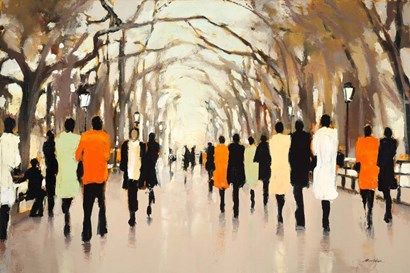 Poet's Walk by Lorraine Christie art print