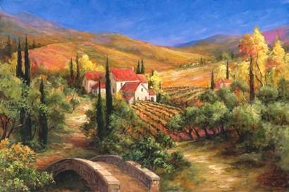 Tuscan Bridge by Art Fronckowiak art print