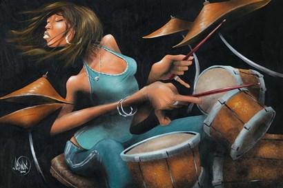 Lola Beats by David Garibaldi art print