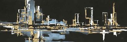 Urban Gold VI by Chris Paschke art print