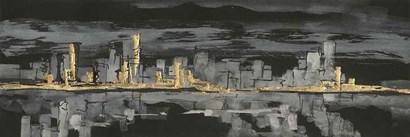 Urban Gold IV by Chris Paschke art print