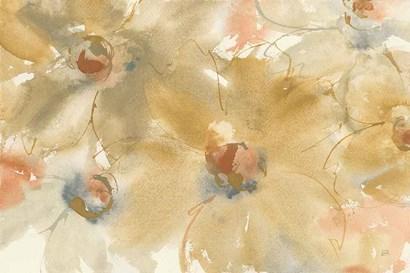 Neutral Blooms by Chris Paschke art print