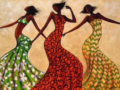 Rhythm by Monica Stewart art print