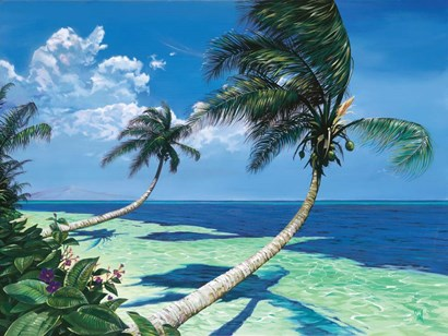 Beckoning Palms by Scott Westmoreland art print