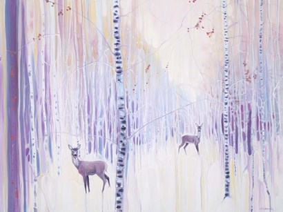 Spirits Of Winter by Gill Bustamante art print