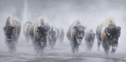Giants in the Mist II by James Corwin Fine Art art print