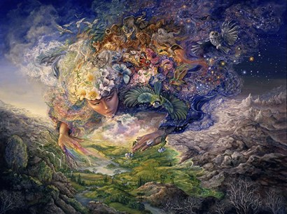 Breath Of Gaia by Josephine Wall art print