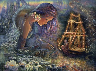 Star Ship by Josephine Wall art print