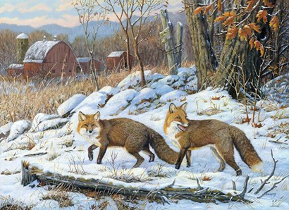 A Hunting We Will Go by Terry Doughty art print