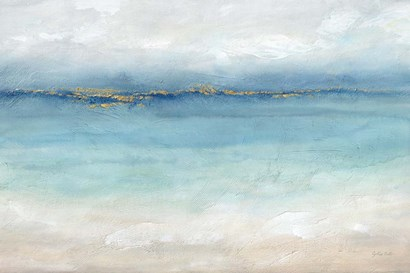 Serene Sea Landscape by Cynthia Coulter art print