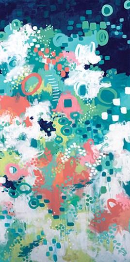 In the Flower Fields II by Sue Allemond art print