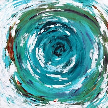In the Vortex by Sue Allemond art print