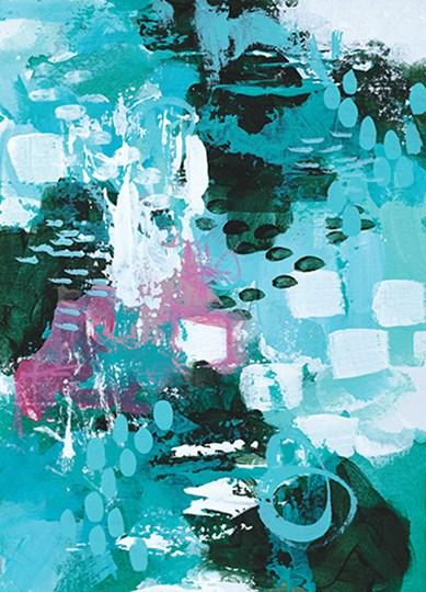 Beyond the Trees II by Sue Allemond art print