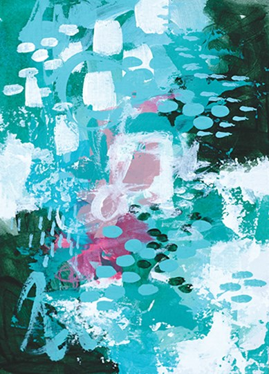 Beyond the Trees III by Sue Allemond art print