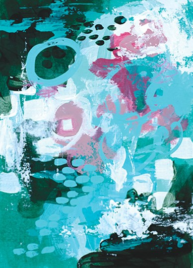 Beyond the Trees IV by Sue Allemond art print