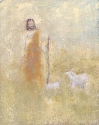 Shepherd by Judi Bagnato art print