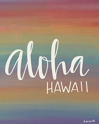 Aloha by Katie Doucette art print