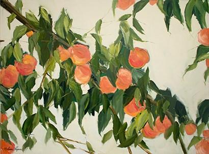 Peach Tree by Melissa Lyons art print
