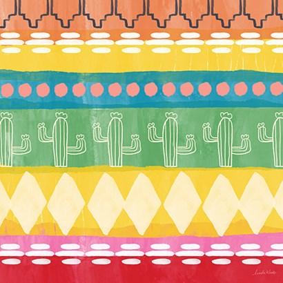Mexican Decorative II by Linda Woods art print