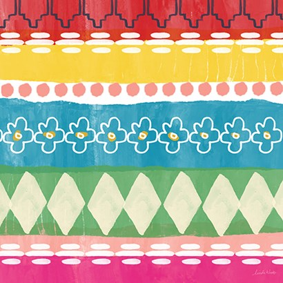 Mexican Decorative III by Linda Woods art print