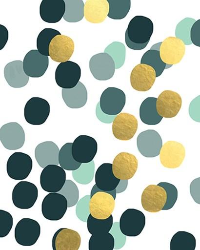 Scandi Confetti III by Linda Woods art print