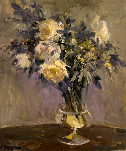Evening Vase by Yellow Café art print