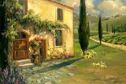 Tuscan Spring by Yellow Café art print