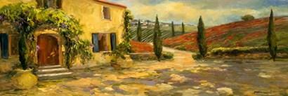 Tuscan Fields by Yellow Café art print