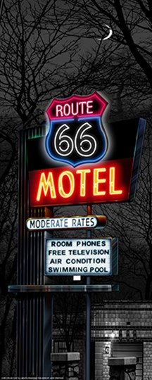No Tell Motel by Yellow Café art print