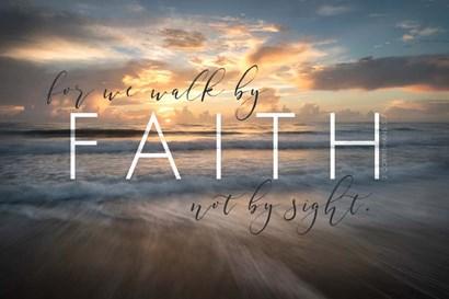 Walk by Faith by Andy Amos art print