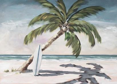 Surfing Paradise by Julie DeRice art print