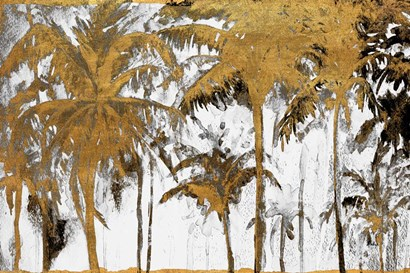 Luxe Palms I by Patricia Pinto art print