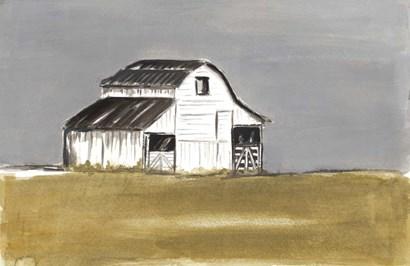 Natural Barn by Patricia Pinto art print