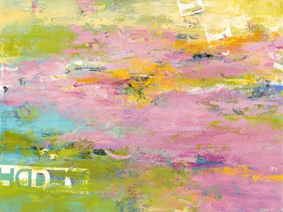 Bits & Pieces by Janet Bothne art print