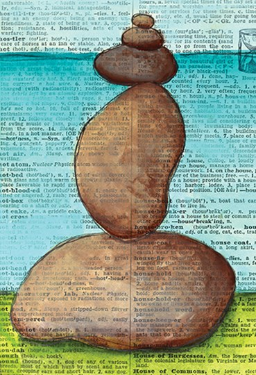 Balance by Sue Allemond art print