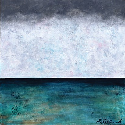 Winter Over Water by Sue Allemond art print