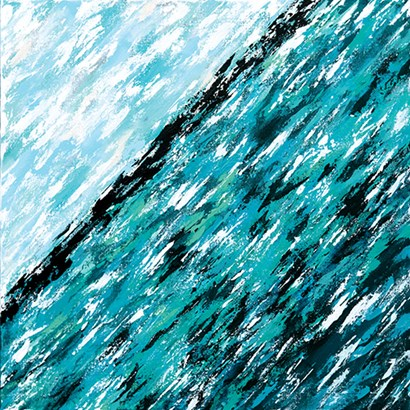 New Ocean by Sue Allemond art print