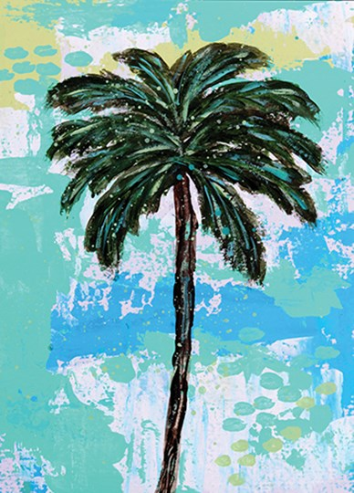 Palms by Sue Allemond art print
