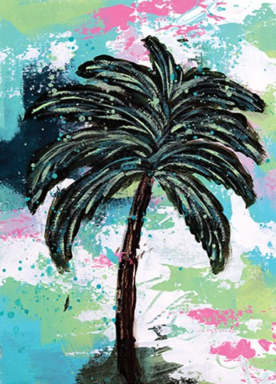 Palms II by Sue Allemond art print