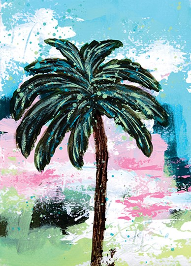 Palms III by Sue Allemond art print