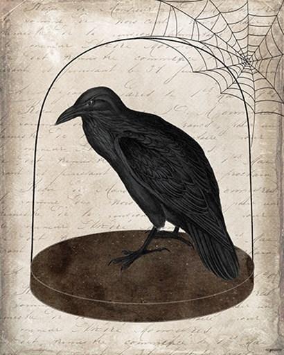Raven Jar by Kyra Brown art print