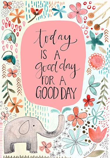 Good Day by Katie Doucette art print